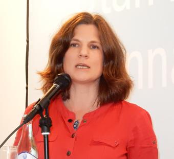 Nanna Wikholm(S): Vi vill utveckla BRT-konceotet. Foto: Ulo Maasing.