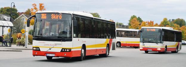 Hittills i år har Jönköpings Länstrafik, JLT, haft en stark resandeökning. Bussresandet har ökat mest. Foto: Ulo Maasing.