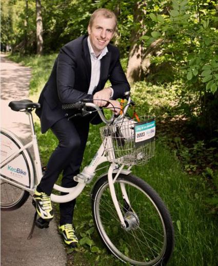 Stefan Gustavsson, affärsutvecklingschef på Keolis. Foto: Keolis.