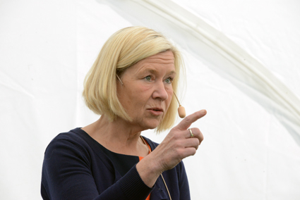 Anneli Hulthén(S), kommunstyrelseordförande i Göteborg. Foto: Ulo Maasing.