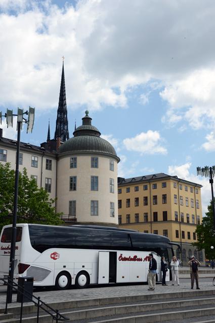 Riddarholmen i Stockholm. Turismen till Stockholm fortsätter att öka kraftigt. Foto: Ulo Maasing.