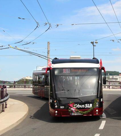 Solaris har levererat sin tusende trådbuss. Foto: Solaris.