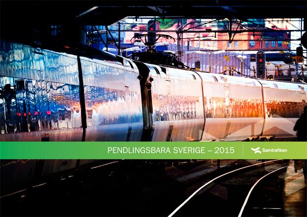 Den som vill ha högst en timmes restid till jobbet med kollektivtrafik i Sverige kan bosätta sig på en yta som är nästan lika stor som Danmark, konstaterar Samtrafiken i en ny rapport.