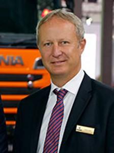 Krister Thulin tar över efter Rutger Hörndahl som bussmarknadschef vid Scania-Bilar Sverige. Foto: Scania.