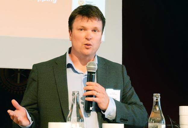 Stefan Sedin, vd för Svensk Kollektivtrafik och ordförande i Partnerskap för en förbättrad kollektivtrafik. Foto: Ulo Maasing.
