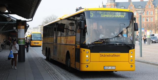 Resandet med SkåneExpressen 5 ökar i raketfart. Foto: Ulo Maasing.