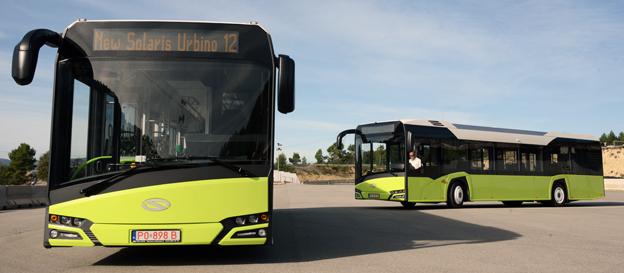 Solaris har fått den internationella kollektivtrafikunionen UITP:s designpris för sin nya Solaris Urbino.