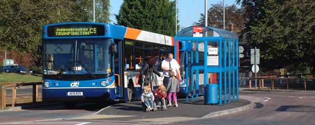 Den brittiska transportjätten Stagecoach gjorde miljardvinst i fjol. Foto: Stagecoach.