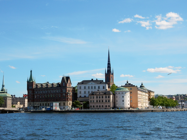 Riddarholmen i Stockholm. Foto: Ulo Maasing.
