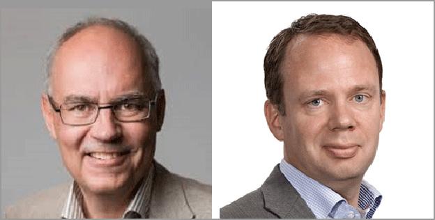 Nya medarbetare hos Svensk Kollektivtrafik: Mattias Adell och Lars Sandberg.