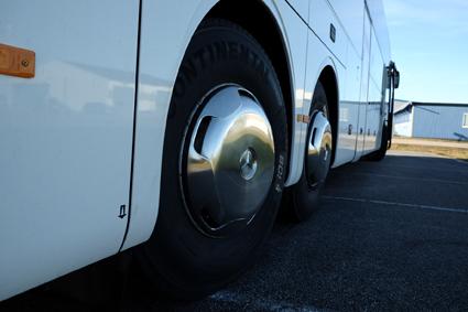 Expressbussföretgen Swebus och Masexpressen inledeer samarbete. Foto: Swebus.