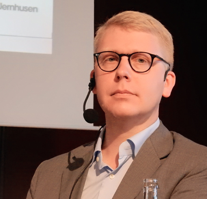 Trafiklandstingsrådet Kristoffer Tamsons(M): Avskaffa momsen på kollektivtrafik. Foto: Ulo Maasing.