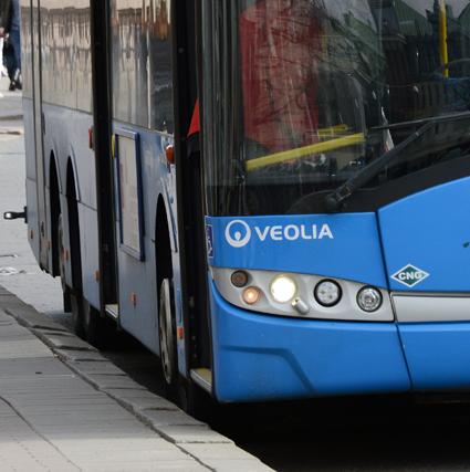 Den nerbrottade bussföraren i Göteborg hade slagit kontrollant i ansiktet och bitit en annan i fingret hävdar kontrollanterna i sin incidentrapport. Foto: Ulo Maasing.
