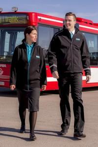Arrivas 3800 medarbetare i Sverige ska få nya uniformer. Foto: Kwintet.