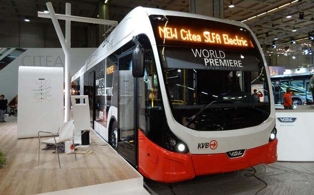 VDL Citea SLFA Electric är en batteribuss med BRT-design. Foto: Ulo Maasing.