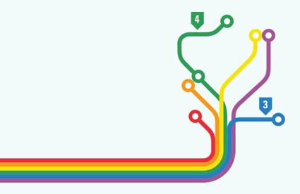 Västtrafik deltar även i år i West Pride. Bild: Västtrafik.
