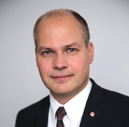 Justitieminister Morgan Johansson(S): Resenären ska inte bara vara hänvisad till de resegarantier som olika trafikbolag ensidigt bestämmer. Foto: Kristian Pohl/Regeringskansliet.