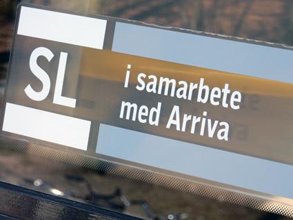 Arriva ska försöka locka resenärer bort från rusningstid med hjälp av presentkort. Foto: Ulo MAasing.