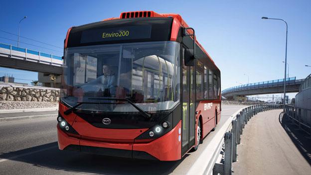 Kinesiska BYD och brittiska Alexander Dennis går samman om att tillverka fullstora elbussar, först för London men med sikte på den globala marknaden. Foto: Go Ahead Group.