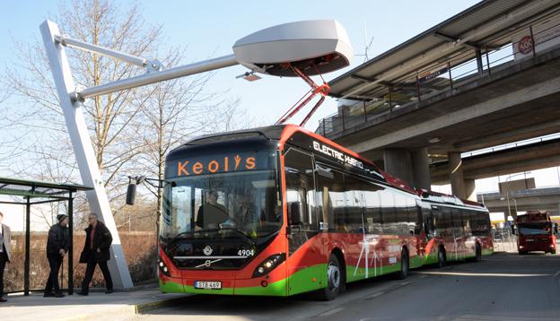 Hybridbussar har gått om gasbussar när det gäller alternativa drivlinor på den globala bussmarknaden. Foto: Ulo Maasing.