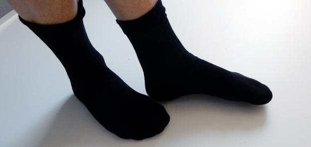 Fötter så som Keolis vill se dem. Foto: Ulo Maasing.
