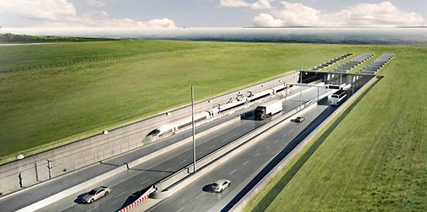 Stena Line protesterar mot statligt stöd till den 19 kilometer långa tunneln mellan Rødby i Danmark och Puttgarden i Tyskland.