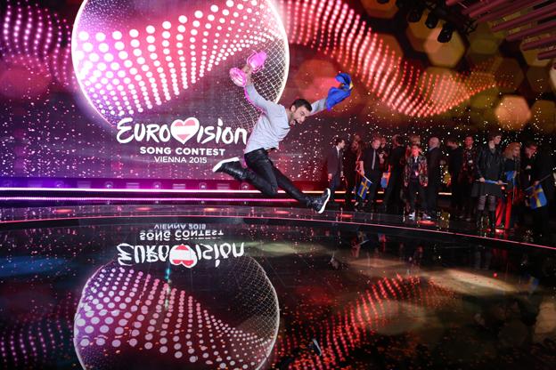Eurovisionsfesten kommer till Stockholm. Efter Måns Zelmerlövs seger i Eurovision Song Contest är det nu klart att nästa års final avgörs i Stockholm den 10 – 14 maj. Foto: Thomas Hanses/EBU.
