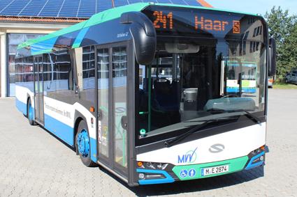 Det första exemplaret av nya Solaris Urbino 12 har nu satts i trafik. Foto: Solaris.