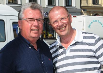 Bengt och Mats Ölvemark gör comeback i bussresebranschen genom att bli styrelseledamöter i On Holiday. Däremot har de inget ägande i företaget. Foto: Ulo Maasing.