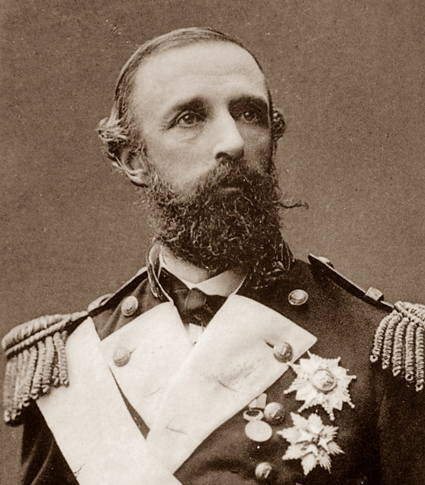 Vänsterprasslande majestätet Oscar II.