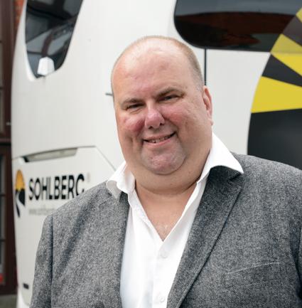 Per Ola Svensson, vd för nya researrangören On Holiday, ägd av Sohlberg Buss. Foto: Ulo Maasing.