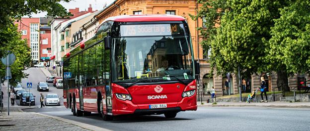 Scania toppade registreringarna i juni. Foto: Scania.