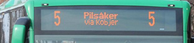 Den mycket uppmärksammade händelsen skedde på fredagskvällen på en buss på linje 5 i Lund.