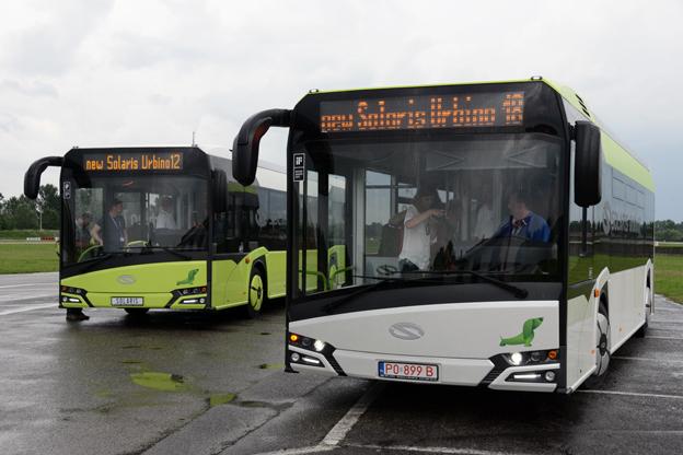 Nya Urbino finns nu både som 12-meters standardbuss och som 18-meters ledbuss. Foto: Ulo Maasing.