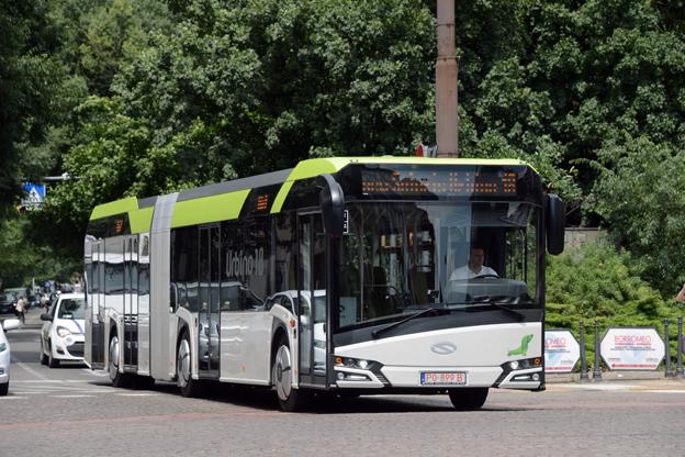 Solaris har redan fått ta emot ett antal designpris för nya Urbino. Foto: Ulo Maasing.