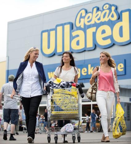 Gekås i Ullared får nu flygförbindelse från Stockholm. Foto: Gekås.