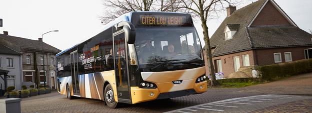 Det unga danska bussföretaget Umove har beställt 55 VDL Citea LLE. Foto: VDL.