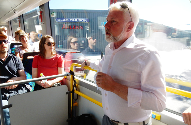 Mikael Persson, Sveriges Bussföretag: Det är fortsatt svårt för kommersiell linjetrafik. Foto: Ulo Maasing.