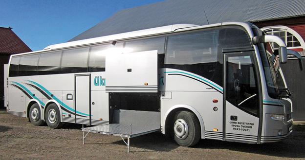 Ukna Buss har testat konstruktionen och konstaterar att den fungerar.