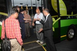 Årets Busworld i Indien hölls i Mumbai. Nästa år flyttar mässan till Bangauru. Foto: Busworld.