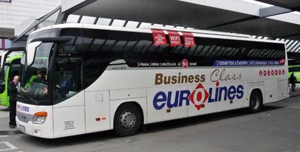 För bara några år sedan var Eurolines synonymt med långväga busstrafik på kontinenten. Foto: Ulo Maasing.