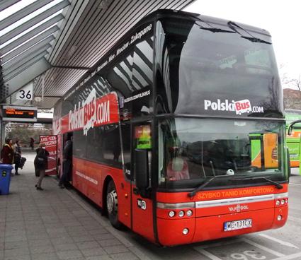Stagecoachgrundaren Brian Souter satsar i östra Europa. I Finland äger han Onnibus, i Polen Polskibus. Foto: Ulo Maasing.