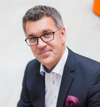 Ralph Axelson, vd för Gotlandsbåten. Foto: Gotlandsbåten.