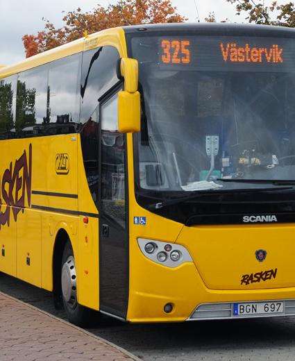 Det är nu klart att KLT kommer att ställa krav på personalövertgagande i den kommande upphandlingen av busstrafiken i länet. Foto: Ulo Maasing.