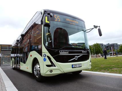 Växer. Kina kommer de närmaste åren att investera väldiga belopp i elbussar. Foto: Ulo MAasing.