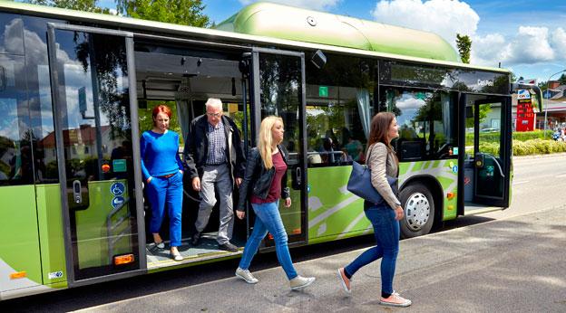 Securitas ska säkra tryggheten på bussarna i Kronoberg. Foto: Mats Samuelsson.