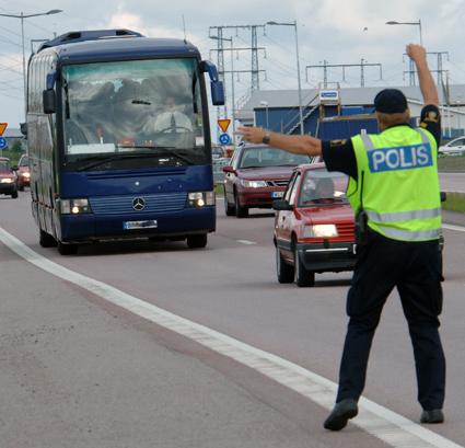 När polisen nyligen kontrollerade bussar i hela landet hade var fjärde buss brister. Arkivbild: Ulo Maasing.