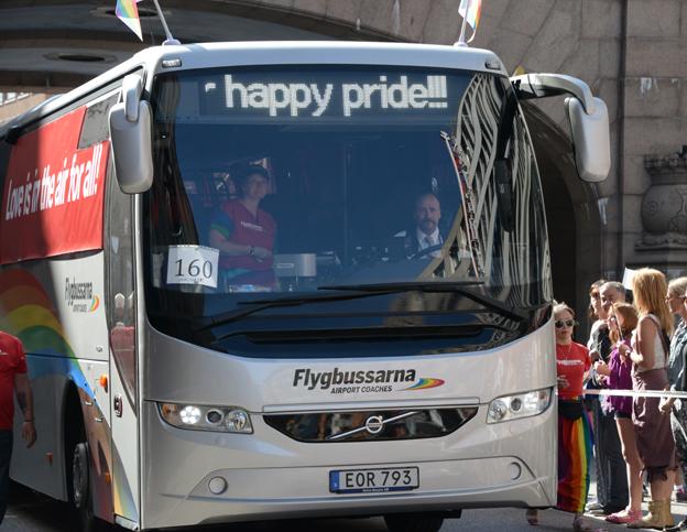 Pride-flygbuss