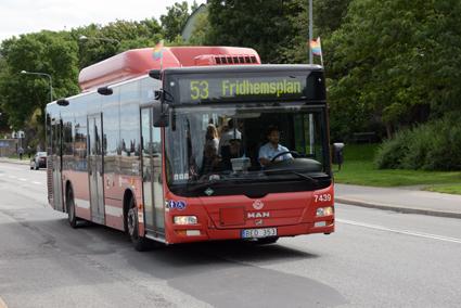 31 MAN-bussar nyregistrerades i Sverige under juli. Volvo toppade listan med 32 bussar. Foto: Ulo Maasing.