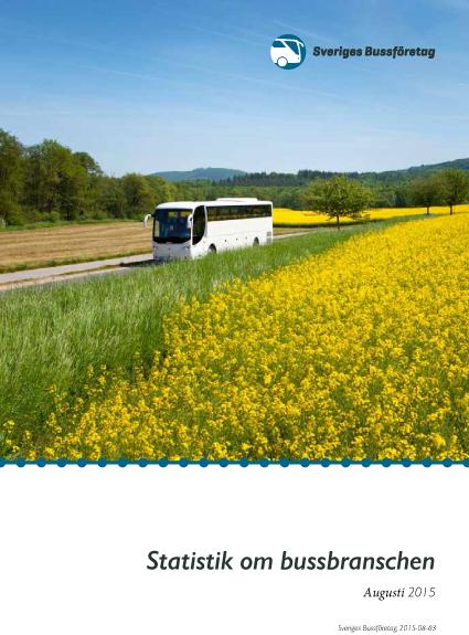 Sveriges Bussföretag har nu publicerat sin årliga statistikrapport med massor av fakta och lite kuriosa om den svenska bussbranaschen.